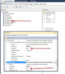 how to view table in sql sql server analysis service ssas changing a source table and a