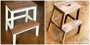 ikea step stool rroom me a quick and easy ikea step stool makeover