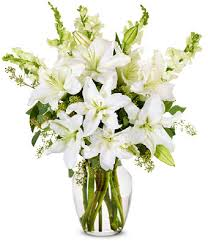 white lilly stunning white lilly arrangement at from you flowers