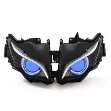 kt headlight for honda cbr1000rr 2012 2016 led eagle eye blue