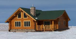square log home plans