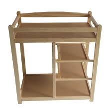 Oak Baby Changing Table Foxhunter Baby Changing Table Unit Station Storage Drawers Pad Mat
