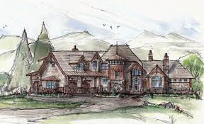 lodge house plans rocky mountain lodge house plan luxury mountain style floor plan