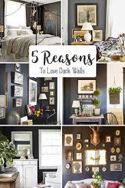 dark walls 5 reasons to love dark walls hello farmhouse