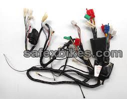 wiring harness ct100 cc dlx ks swiss motorcycle parts for bajaj