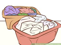 4 ways to remove coloring washed in to clothes wikihow