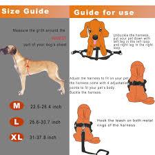 guide dog harness amazon com cropal dog leash harness with traffic handle