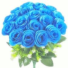 blue roses for sale 20 blue roses bunch j k florist