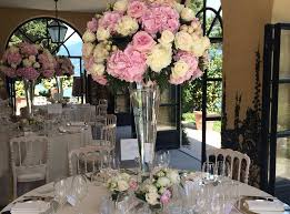 Wedding Flowers Table Wedding Flowers Table Displays Tall And Dramatic Wedding