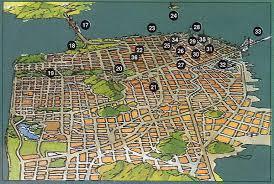 san francisco map sightseeing san francisco city sightseeing information