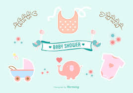 baby shower vector free gallery baby shower ideas
