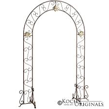 wedding arches and columns wholesale metal wedding arch onyx bronze by koch originals