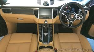 porsche macan interior 2017 porsche macan r4 interior dashboard indian autos blog