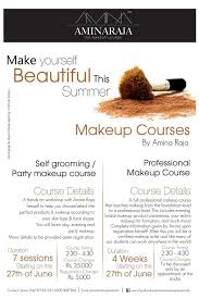 Wedding Makeup Classes Amina Raja U0027s Make Up Classes Colors Of Fashion