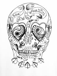 day of the dead skull templates by manxminx teaching resources tes