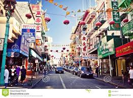 Map Of Chinatown San Francisco by Chinatown San Francisco After Hours Editorial Photography Image
