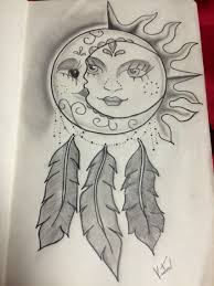 sun and moon dreamcatcher my myself dedicated to my