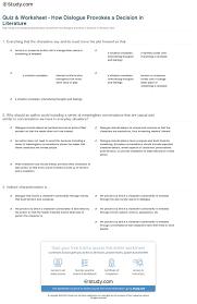 dialogue worksheet worksheets