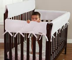 Baby Cribs Vancouver by Trend Lab Long Narrow Cribwrap Rail Cover White Amazon Ca Baby
