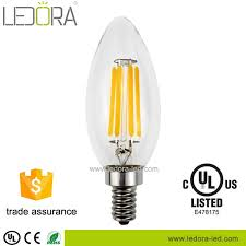 Dimmable Led Chandelier Light Bulbs Sale All Glass No Plastic Ra U003e90 Dimmable Led Light Type E14