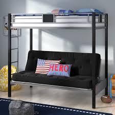 viv rae elya twin over full bunk bed u0026 reviews wayfair