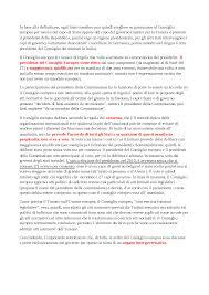 convocazione consiglio dei ministri riassunto diritto comunitario istituzioni ed organi dell