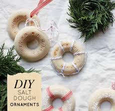 diy salt dough ornaments design sponge