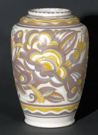 Clay Vase Painting Traditional