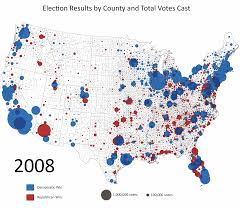 Metro Coverage Map by Lower Turnout In 2012 Makes The Case For Political Realignment In