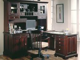 Sauder Graham Hill Computer Desk With Hutch by Desk Of Wall And Wooden Floor Plus Window Sauder Computer Desks
