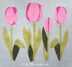 applique patterns tulip applique patterns