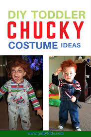 chucky doll costume for toddlers how to do a toddler chucky costume diy costume ideas