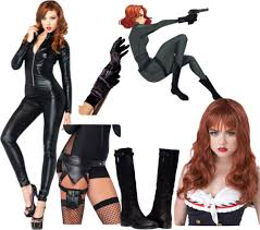 Black Widow Halloween Costumes Minute Comic Costume Ideas Comic Costumes Comic