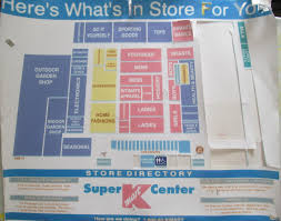 Michigan City Outlet Mall Map by Trip To The Mall Find Old Super Kmart Center Floor Map