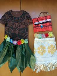 moana and maui costume moana family diy costumes 2017