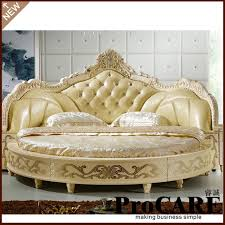 round bed frame modern european elegant noble style king size round bed price in