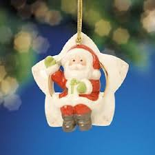 lenox sitting on a santa ornament 808449 ebay