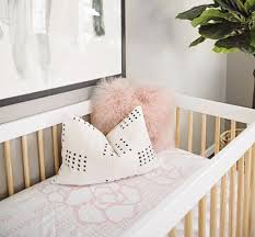 Blush Crib Bedding by In The Nursery With Kailee Wright Project Nursery Nursery And