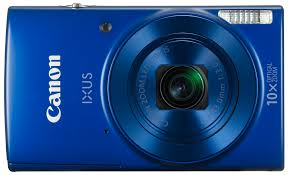 canon ixus190bl digital camera 20mp 10x optical zoom blue at