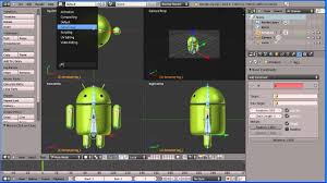 android engine blender engine controlling a simple rig android