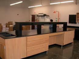 Epoxy Countertop Wood Casework Wood Lab Casework Wood Lab Cabinets