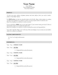 Summary For Job Resume Wikipedia How To Write A Resume For Job With Experience Page1 1