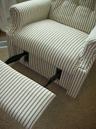 Furniture Lay Z Boy Recliners by Diy Reupholster An Old La Z Boy Recliner Pinterest Helped Me Do