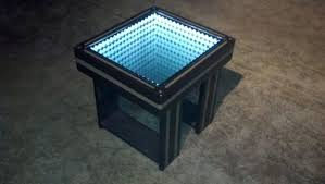 Coffee Tables With Led Lights Buy A Custom Made Infinity Mirror Coffee Table With Led Lighting