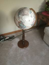 World Globe Light Fixture by News Page 2 Of 5 Miz Lehman Realtors Auctioneers