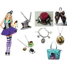 Mad Hatter Halloween Costume Girls 186 Alice Images Wonderland Party Costume