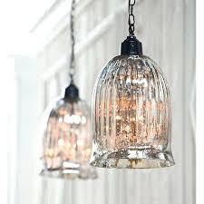 Anthropologie Lighting Schonbek Mercury Glass Pendant Lights Antique Pottery Barn