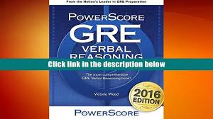 free download the powerscore gre verbal reasoning bible victoria