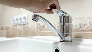 bathroom water faucet cleaning with detergent and disinfectant 4k