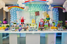 peppa pig birthday ideas a peppa pig 3rd birthday party spaceships and laser beams